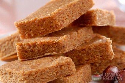 Receita de Paçoca diet em receitas de doces e sobremesas, veja essa e outras receitas aqui!
