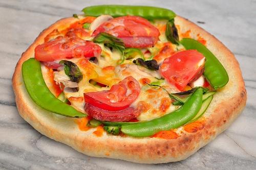 石焼き釜の手作りピザ (Pizza)