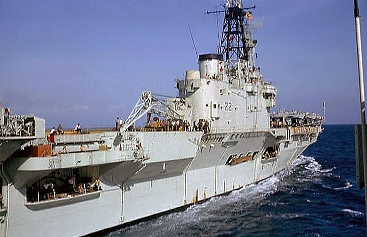 HMCS Bonaventure (CVL 22) was a Majestic-class aircraft carrier launched, Feb 27, 1945 and served both in the Royal Canadian Navy and Canadian Forces Maritime Command.