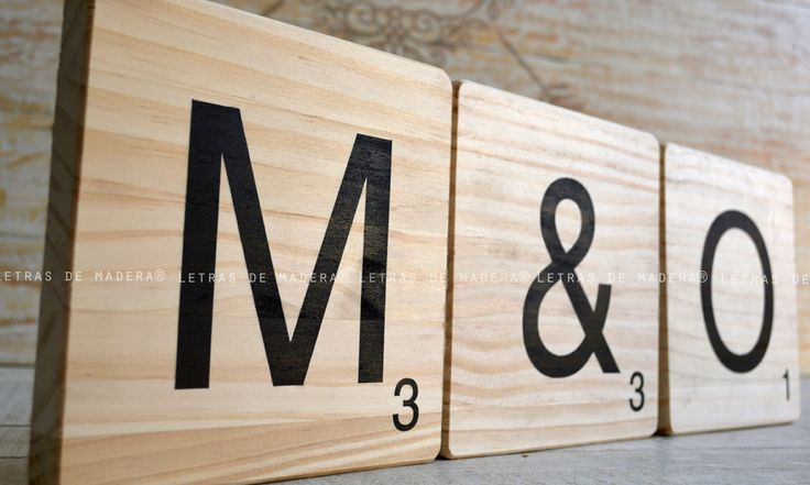 M s de 25 ideas incre bles sobre letras de scrabble en pinterest arte con azulejo scrabble - Letras scrabble madera ...