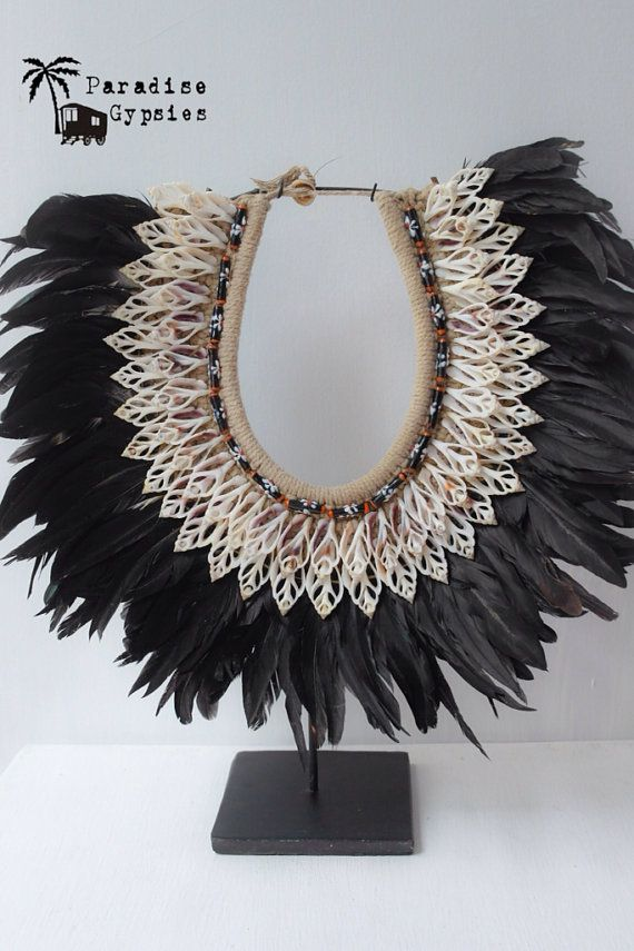 ON SALE Traditional Papuan Black and Natural by ParadiseGypsies