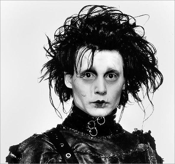 Edward Scissorhands   Hands, scissors?   No, scissor hands.