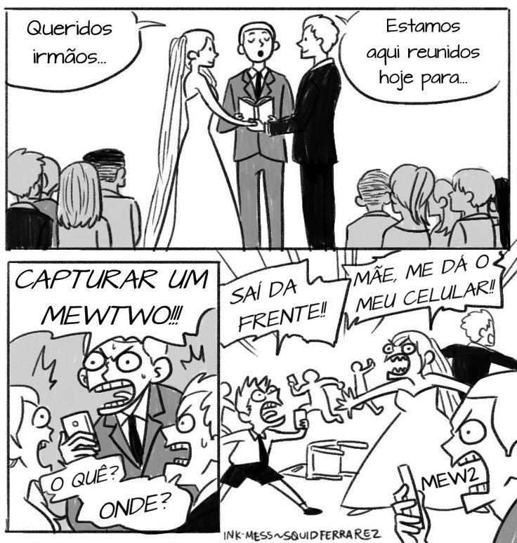 casamento pokemon go