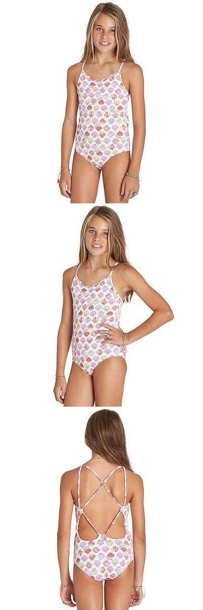 Swimwear 51567: Billabong Girls Seeing Shells Seashell One Piece -> BUY IT NOW ONLY: $31.33 on eBay!