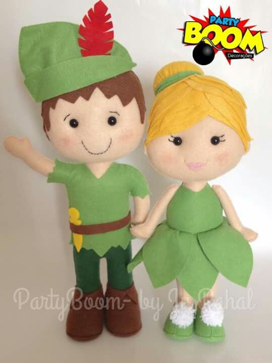 Peter Pan feltro