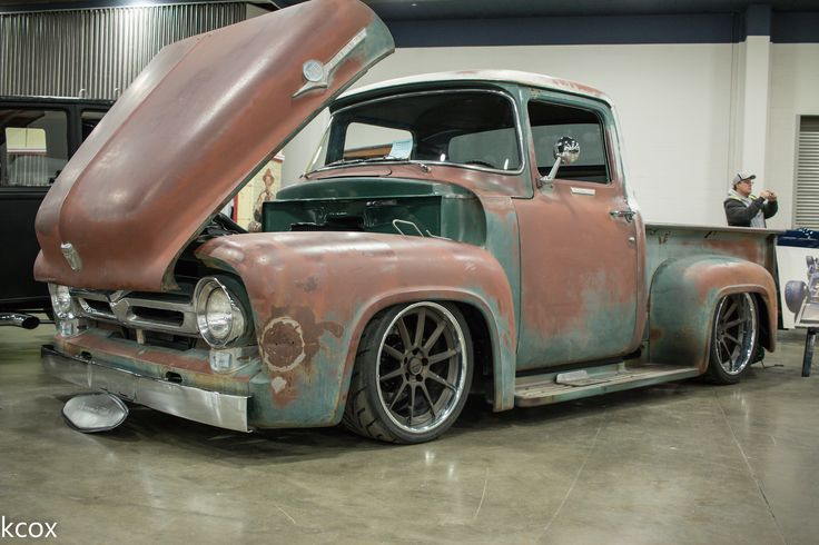 The Quot Effin Confused Quot 56 Ford F100 Is Powered By A Ford