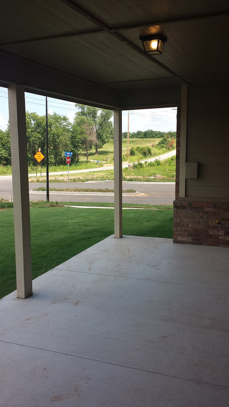 Back Patio Of The Bailey Plan By Simmons Homes. | SIMMONS HOMES/TULSA,OK |  Pinterest | Patios