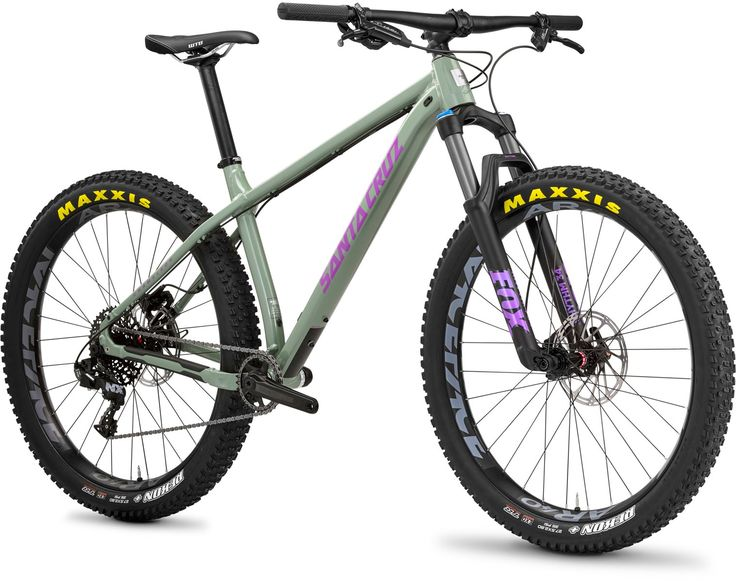 Santa Cruz Chameleon D 27.5 Plus Mountain Bike 2017 Green/Purple £1,599.00