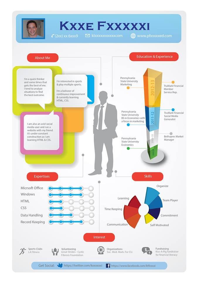 14 best Infographic Resume images on Pinterest Infographic - darpa program manager sample resume