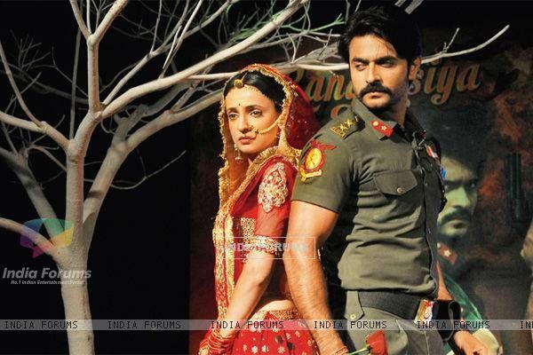 Sanaya Irani and Ashish Sharma