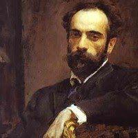 Valentin Serov, Portrait of Isaac Levitan, 1893