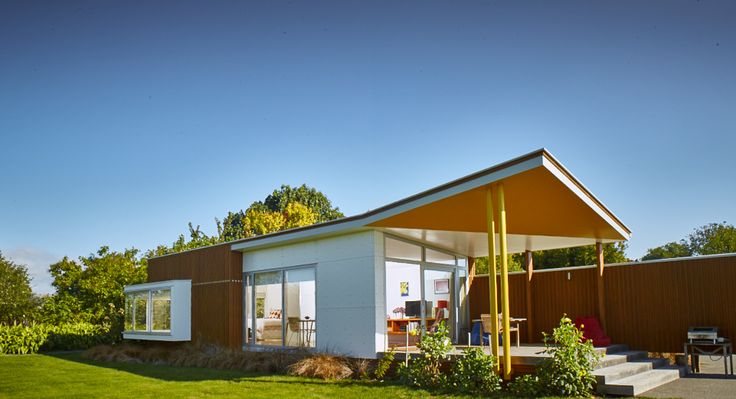 John's House Pavilion in Hastings was awarded a local award and a Resene colour award at the  Hawkes Bay/Gisborne NZIA awards last week.