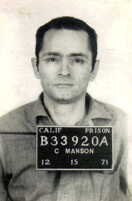 Charles Manson. What a insane nutcracker. Both God and the Devil mind you. But I bet he has a bunch of fascinating stories from the late 1960's.