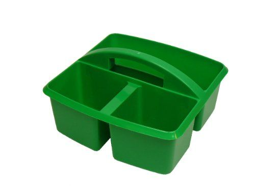Plastic Storage Caddy For Paint Brushes And Tools