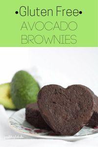 Gluten Free Avocado Brownies- no added sugar, no oil or butter, no gluten!