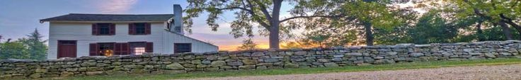 Sunken Road, Stone Wall and Innis House