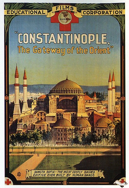 Constantinople Poster (Turkey) #constantinople #ancientturkey #homeschool