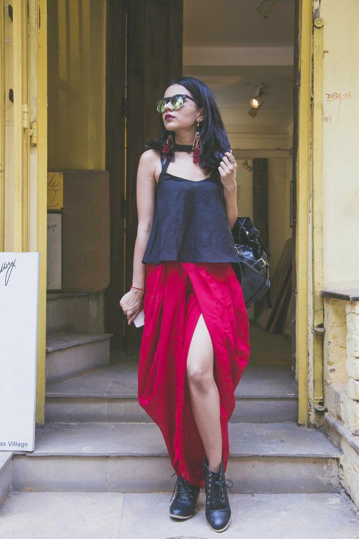 Dhoti Pants: Maysa Creations