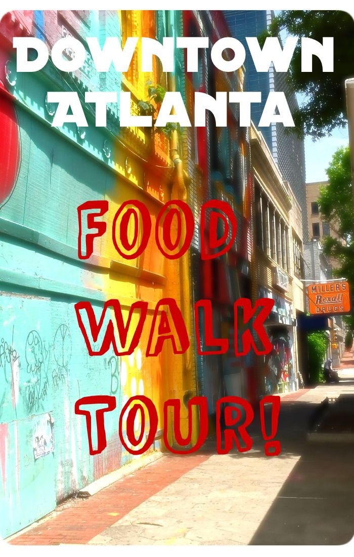A Food Tour in Atlanta! The Downtown Southern Food Walk Tour! Eat delicious traditional southern foods while learning about the historic area of Downtown Atlanta!