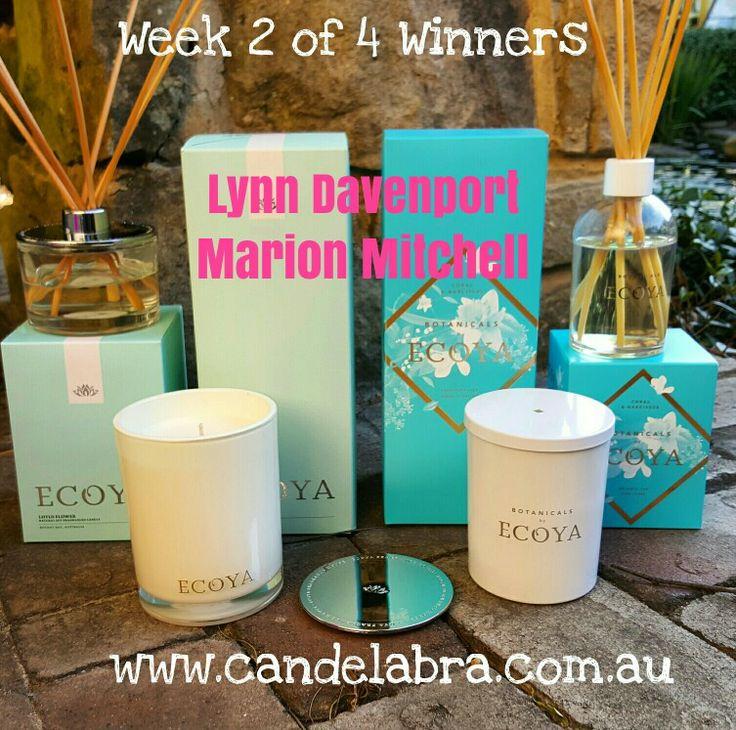 WEEK 2 Winners!!