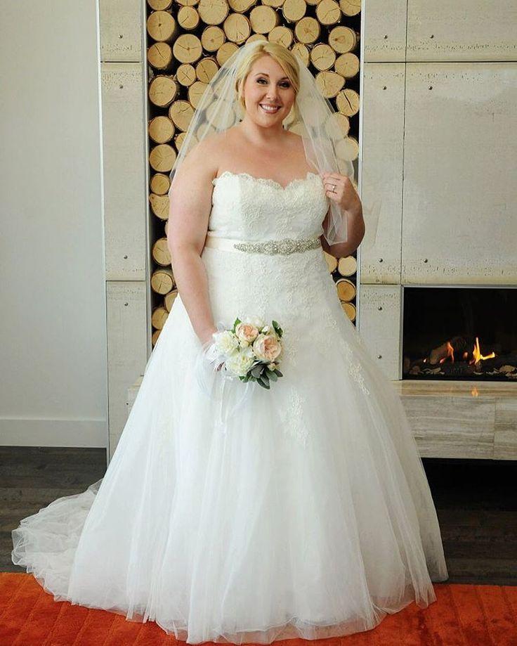 David Bridal Bridesmaid Dresses Plus Size: 251 Best Images About Plus Size {Wedding Dresses} On