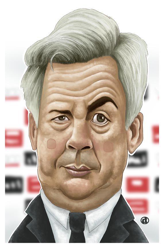Carlo Ancelotti: Cựu cầu thủ bóng đá Ý đại Lợi và huấn luyện viên trưởng câu lạc bộ Bayen Munich