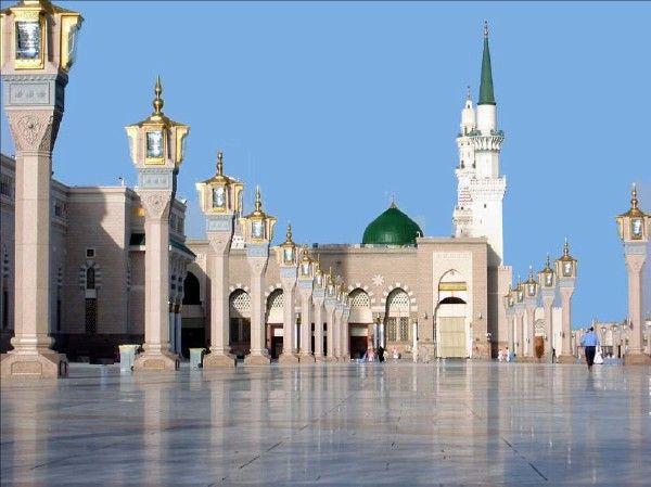 Al-Masjid al-Nabawi Mosque - Medina, Saudi Arabia