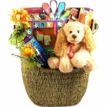 $80 LARGE GIFT BASKET - FREE DELIVERY HARNETT, WAKE, CUMBERLAND, AND LEE COUNTIES NORTH CAROLINA Ohh Baby Baby Boutique Online Consignments & Gift Baskets By Kavalon
