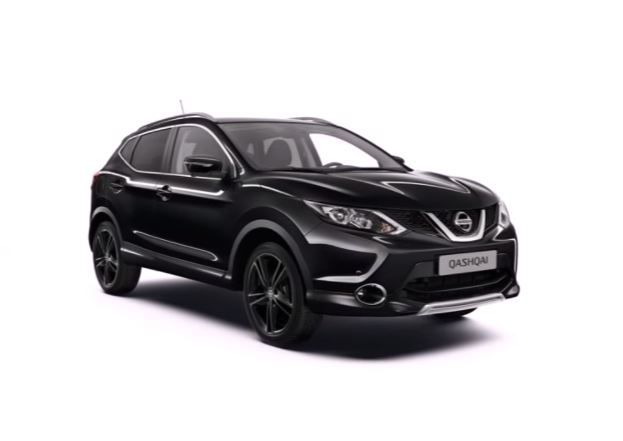 Nissan Qashqai Black Edition goes on sale