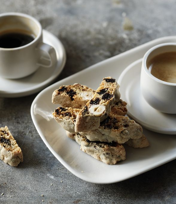 46 best homemade presents images on pinterest bbc recipes baking twice baked these crunchy hazelnut biscotti are just the thing to make as a forumfinder Choice Image