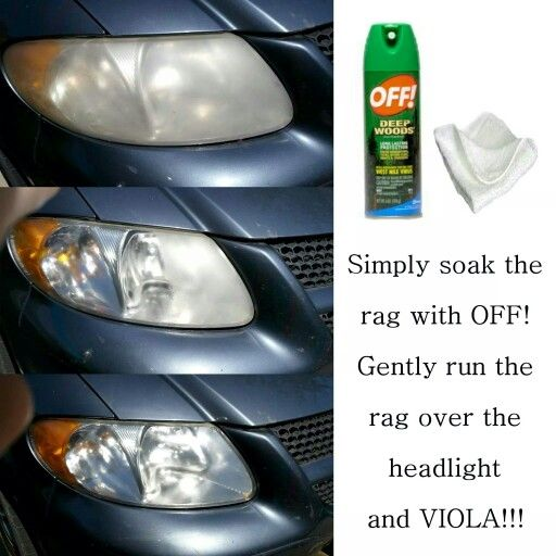 Quick And Simple Headlight Cleaner!