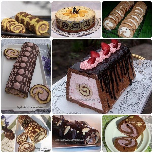 diana's cakes love: Rulade...rulade...rulade...