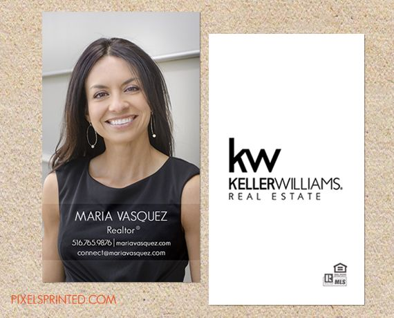 keller williams business cards in 2019 real estate business card