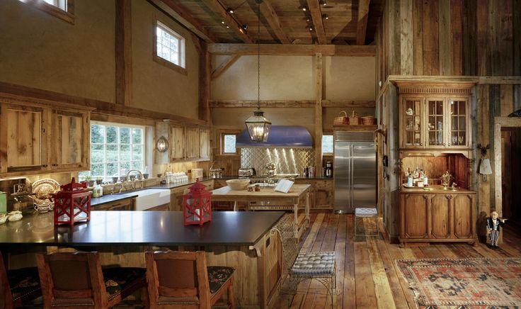 Kitchens Logs House Barns Wood Barns Home Barns House Heritage
