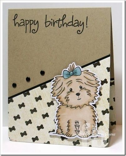 Happy Birthday! Created By Frances Byrne Using The Stamps