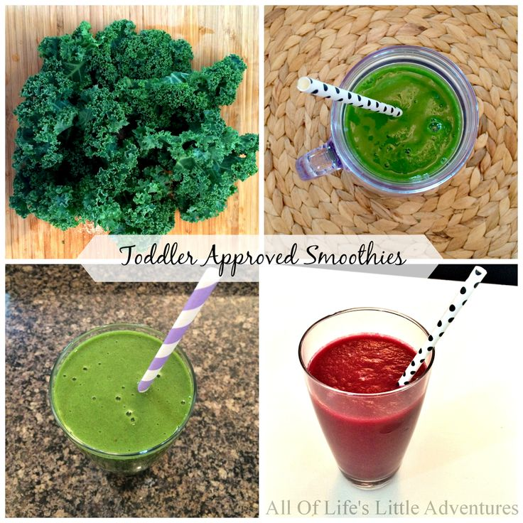 Toddler Approved Smoothie Recipes and tips for getting your toddler to actually eat veggies! :)