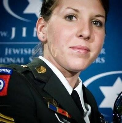 Sgt. Monica Lin Brown, U.S. Army.    Only the second woman since WWII to receive the Silver Star, the U.S. military's third-highest medal for valor in combat.  In April 2007, after a roadside bomb detonated, PFC Brown, ran through insurgent gunfire to reach the wounded using her body to shield them while mortar rounds  and small arms fire impacted nearby.