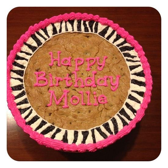 cookie cake ideas