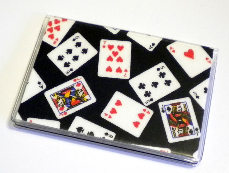 Card Case Mini Wallet Playing Cards. $4.00, via Etsy. for business cards