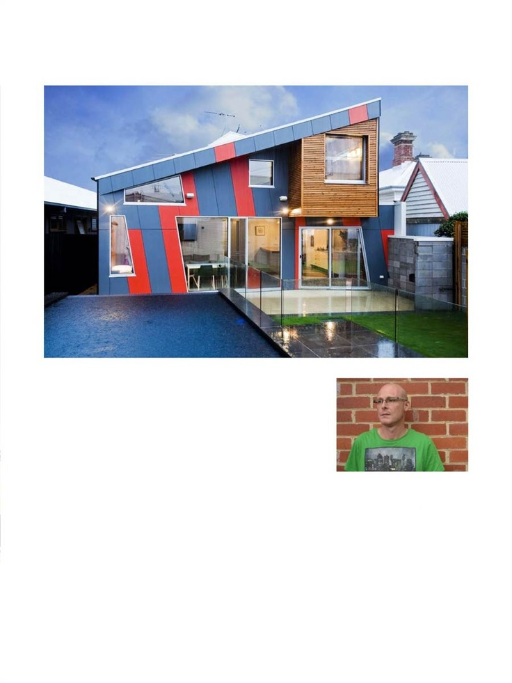 Ed Ewers Architecture. Design inspired by lego. Ten Legs House. Light Home Magazine : Light Home Winter Issue 2011, Page 88
