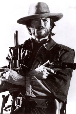 "Clint Eastwood, He da man, "" Dyin""s easy, it's livin that's hard"","" There's iron in you're words""  Josey Wales."