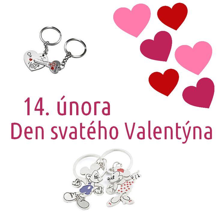 Den svatého Valentýna! 14. únor se blíží.   Den svatého Valentýna je znám po celém světě jako svátek všech zamilovaných. Nezapomeňte na své nejbližší a milované. I malá pozornost je mnohdy velkým darem.  Nabídka přívěsků pro dva: http://www.faverion.cz/privesky-pro-dva/