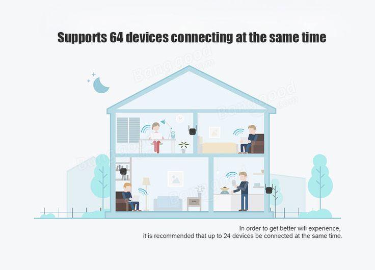 Xiaomi Pro 300Mbps Wifi Amplifier Wireless Wifi Signal Extender Repeater