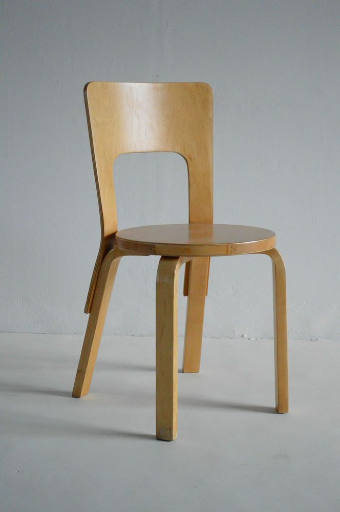 1930s Alvar Aalto chair 66 for Artek (Pair available) in Home, Furniture & DIY, Furniture, Chairs | eBay