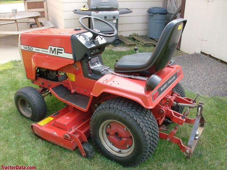 Vintage Lawn And Garden Tractors : Mf tractor tractordata massey ferguson