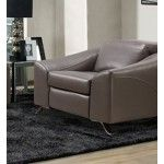 Moroni - Tanus Leather Power Recliner Chair in Storm - 55939