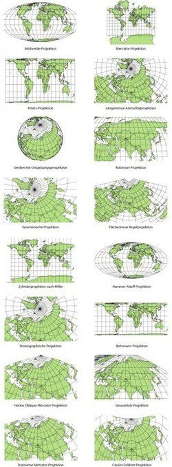 Cartographic Anomalies: How Map Projections Have Shaped Our Perceptions of the World