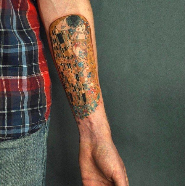 19 tatuaggi ispirati a pittori famosi
