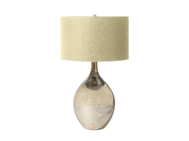 Andromeda Large Glass Table Lamp With Natural Shade Table Lamp Glass Table Lamp Lamp