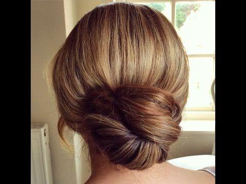 Slide Up Twist Bun by SweetHearts Hair Design - YouTube